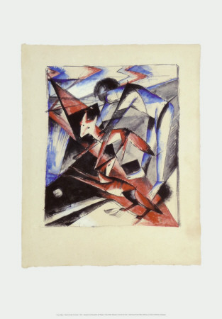 Noah and the Foxes, c.1913 Posters by Franz Marc