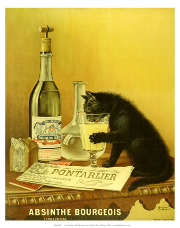 Absinthe Bourgeois, c.1900 Reproduction d'art