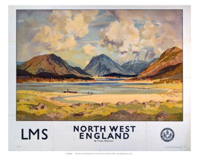 North West England, LMS, c.1923-1947 Poster