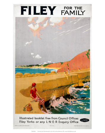 Filey for the Family, LNER, c.1923-1947 Prints