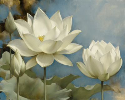 Lotus I Prints by Igor Levashov