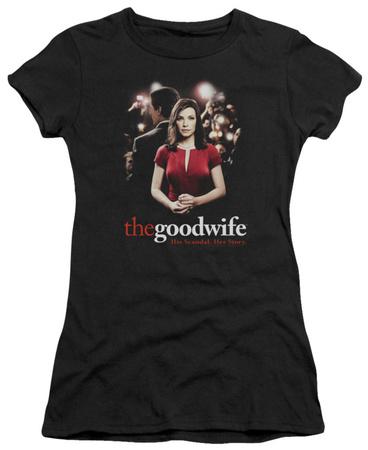 Juniors: The Good Wife-Bad Press T-Shirt