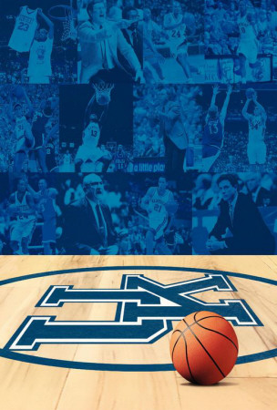 The History of University of Kentucky Basketball Prints