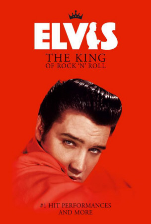 Elvis: The King of Rock 'n' Roll - UK Style Poster!