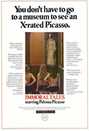 Immoral Tales Poster