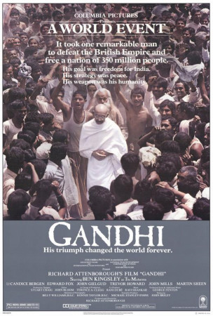 Gandhi Plakat