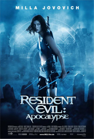 Resident Evil: Apocalypse – German Style Posters