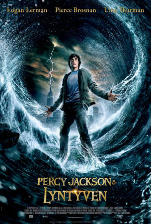 Percy Jackson & the Olympians: The Lightning Thief - Danish Style Poster