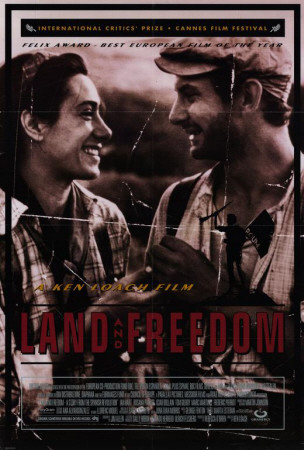 Land and Freedom Plakat