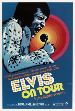Elvis On Tour Plakater