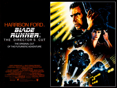 Blade Runner movie poster cover art
