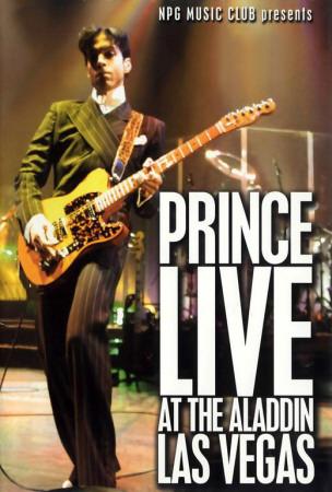 Prince Live at the Aladdin Las Vegas Posters
