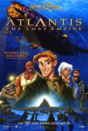 Atlantis: The Lost Empire Posters