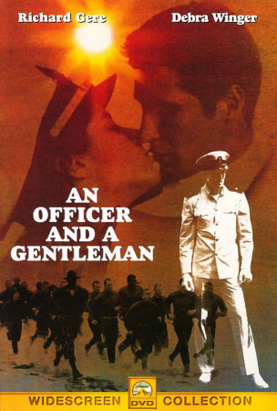An Officer and a Gentleman Póster