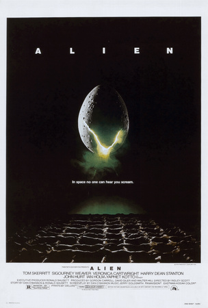 Alien Planscher
