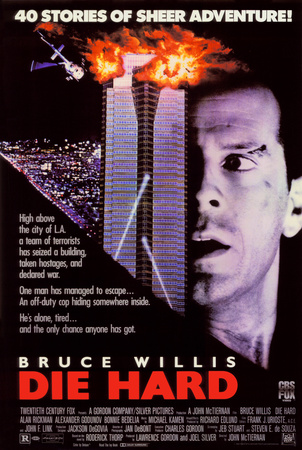 Die Hard movie poster cover art