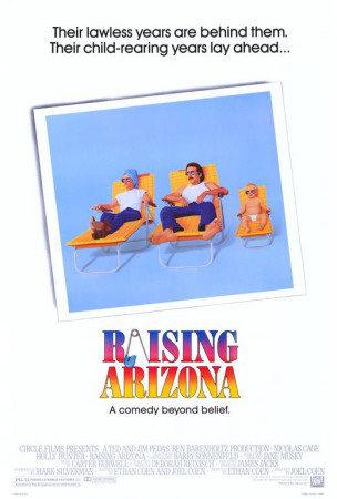 Raising Arizona Posters