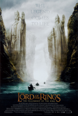 Lord of the Rings 1: The Fellowship of the Ring Plakat