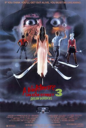 A Nightmare on Elm Street 3: Dream Warriors Pósters