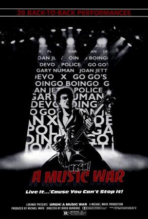 Urgh a Music War Poster