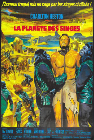 Planet of the Apes - French Style Posters