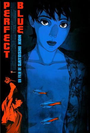 Vos affiches de films préférées/détestées Perfect-blue-french-style