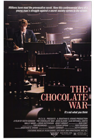 Chocolate War Posters