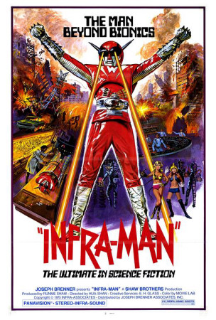Infra-Man Posters