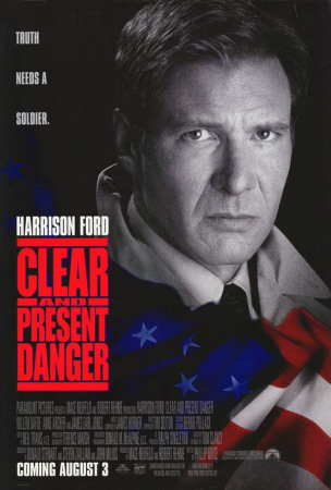 Clear and Present Danger Posters