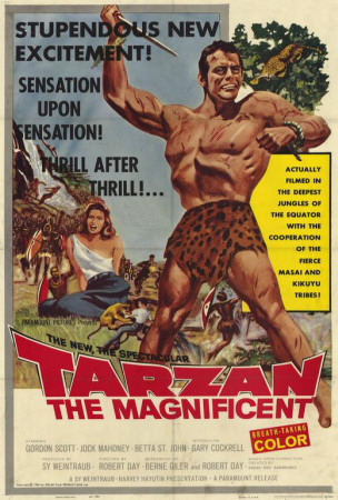 Tarzan the Magnificent Posters