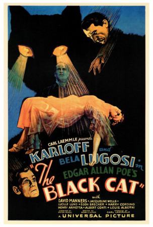 The Black Cat Print