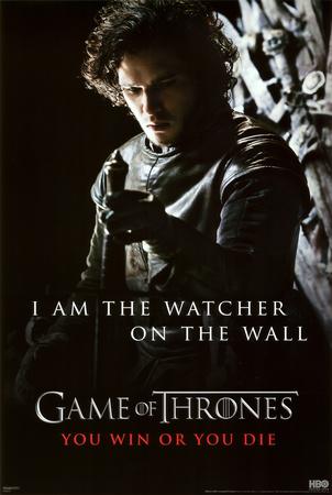 Game of Thrones - Jon Snow - Watcher Prints