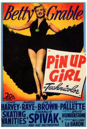 Pin Up Girl Print
