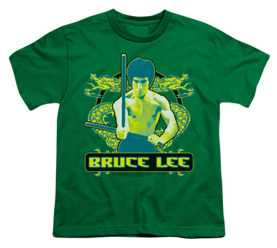 Youth: Bruce Lee-Double Dragons T-shirts