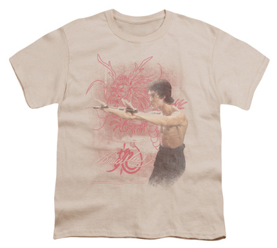 Youth: Bruce Lee-Power Of The Dragon T-shirts
