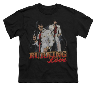 Youth: Elvis-Burning Love T-Shirt