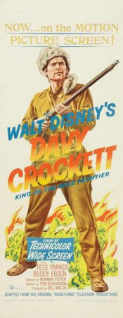 Davy Crockett, King of the Wild Frontier Print