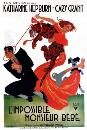 Bringing Up Baby - French Style Posters