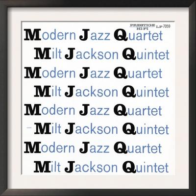 Modern Jazz Quartet and Milt Jackson Quintet - MJQ Prints