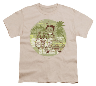 Youth: Betty Boop-California T-shirts