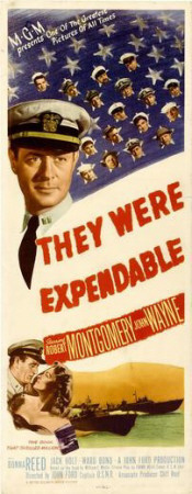 They Were Expendable Posters