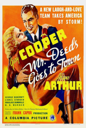 Mr. Deeds Goes to Town Posters