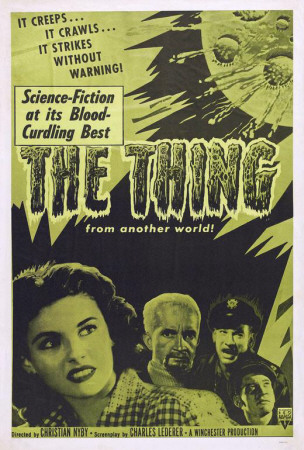 The Thing from Another World Posters