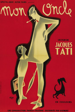 Mon Oncle - French Style Posters