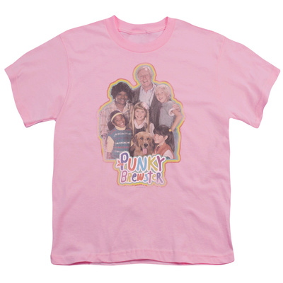 Youth: Punky Brewster-Distressed T-Shirt