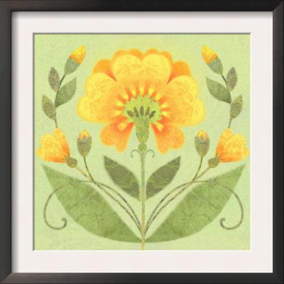 Floral Square II Prints