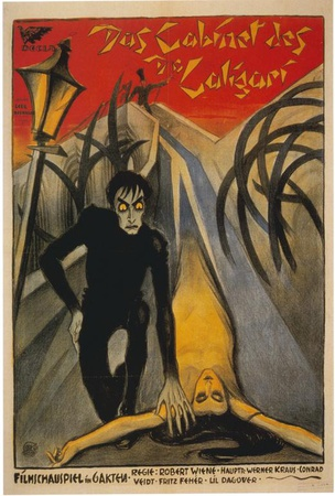 The Cabinet of Dr. Caligari - Italian Style Poster