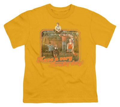 Youth: Brady Bunch-Have A Very Brady Day! Shirts