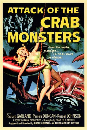 Attack of the Crab Monsters Plakat