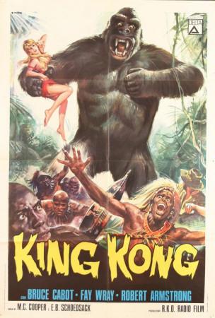King Kong Plakat